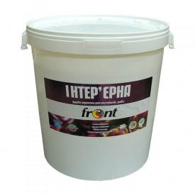 Краска водоэмульсионная акриловая интерьерная Фронт 40 кг