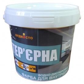 Краска ВД акрил интерьерная Будмисто 1,5 кг