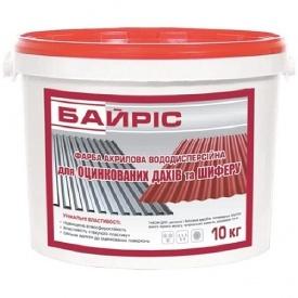 Краска акриловая Байрис коричневая 10 кг