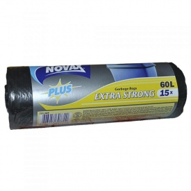 Пакеты для мусора Novax Plus 60 л 15 шт