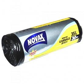 Пакеты для мусора Novax 35 л 30 шт
