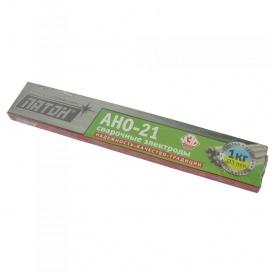 Электроды для сварки углеродистых сталей АНО-21 Ф 3 1 кг