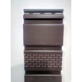 Софіт Айдахо з перфорацією 2,7x0,3 м коричневий