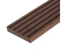 Плинтус для террасной доски Woodplast Bruggan Multicolor 63x2200 мм
