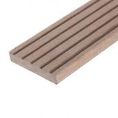 Плинтус для террасной доски Woodplast Legro гибкий 47х2200 мм