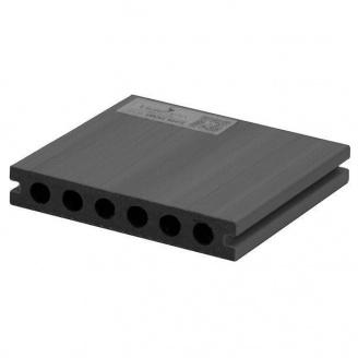 Террасная доска Woodplast Legro Ultra двуслойная 138x23x2900 мм light grey