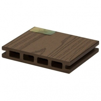 Террасная доска Woodplast Legro пустотелая 150x25x5800 мм olive