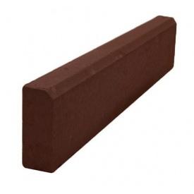 Бордюр тротуарный поребрик 1000х80х200 мм коричневый