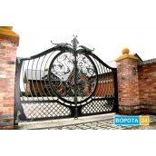 Ковані відкатні ворота 5500х2000 мм