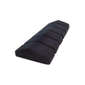 Парапет сухонабивной узкий 480х200х70 мм черный