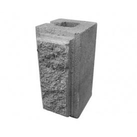 Блок фасковий чверть 90х90х190 мм сірий