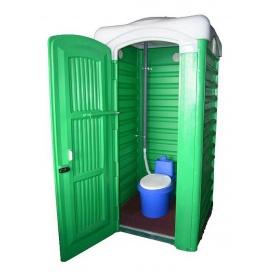 Туалет-кабина Дачная Укомплектованная 1110х1100х2400 мм