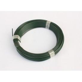 Дріт ПВХ 3,5 мм 100 пог. м зелений