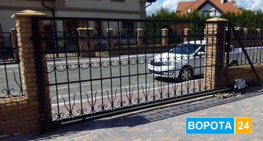 цены на автоматические уличные ворота на кавминводах