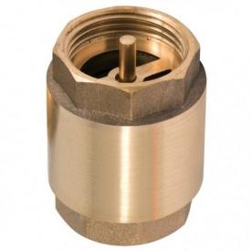 """Обратный клапан STR 1"""" латунный шток усиленный"""
