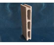 Облицовочный бетонный блок Новоблок 500х70х190 мм