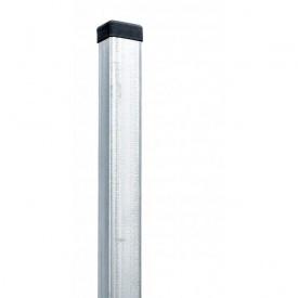 Столбец ограждения горячеоцинкованный 40х60х2250 мм