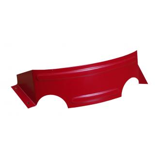 Снігозатримувач Підкова матовий 0,5 мм червоний