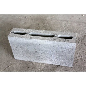 Блок стеновой из тяжелого бетона СБ-Пр-Ц-Р внутренний 200х90х188 мм
