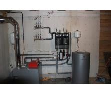 Подключение газового отопительного котла