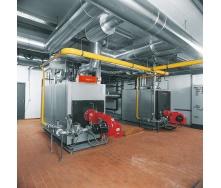 Монтаж отопления промышленного здания
