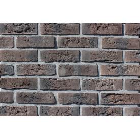 Фасадна плитка Loft Brick Бельгійський 04 Коричневий з підпалом 240x71 мм