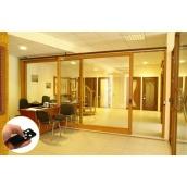 Подъемно-сдвижное деревянное окно 3000 мм