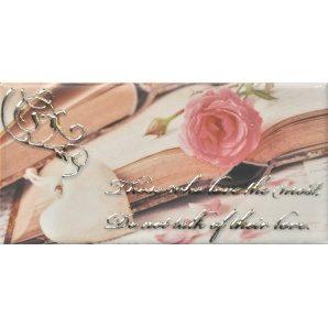 Плитка декоративна АТЕМ Sandra Rose 1 76х152 мм