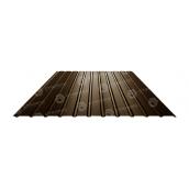 Профнастил Сталекс ПС-12 1185/1155 мм 0,4 мм PE (Китай) (RAL8017/шоколадный)