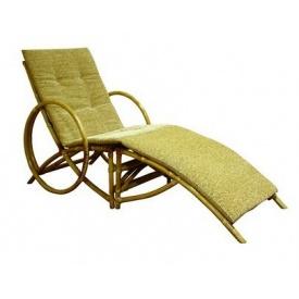 Крісло-шезлонг Майямі ЧФЛИ 700х1700х950 мм горіх сірий
