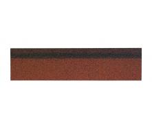 Коньково-карнизная черепица Shinglas 250х1000 мм красный микс