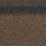 Гребенево-карнизна черепиця Shinglas 250х1000 мм коричневий мікс
