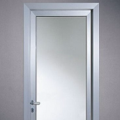 Дверь офисная алюминиевая НОВЫЙ ПРОЕКТ ГРУПП 2050x900 мм