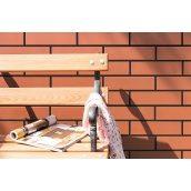 Фасадна панель-декор Royal Fasade з клінкерної плиткою Cerrad 1016х600х150 мм Rot