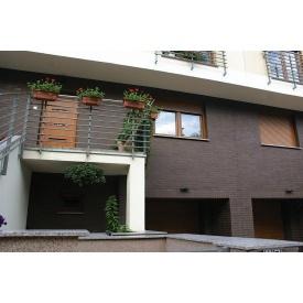 Фасадна термопанель Royal Fasade з клінкерної плиткою King Klinker 1036х600х80 мм Natural brown