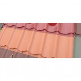 Металлочерепица ArcelorMittal Topaz 0,5 мм оранжевая