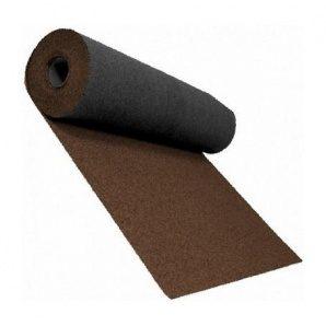 Розжолобковий килим Shinglas 3,4 мм 1х10 м цегляний