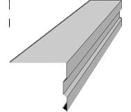 Планка торцевая Индастри ТП-2 90 мм