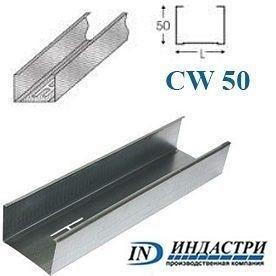 Профиль ПК Индастри CW 50x50 мм 0,45 мм
