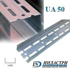 Профиль ПК Индастри UA 50 40x50х1,5 мм