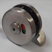 Завертка накладная стальная НОВЫЙ ПРОЕКТ ГРУПП CLASSIC 50х40 мм металлик