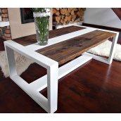 Журнальний стіл Whiter 45х55х95 см білий
