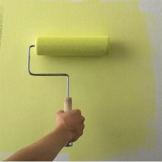 Окраска стен дома