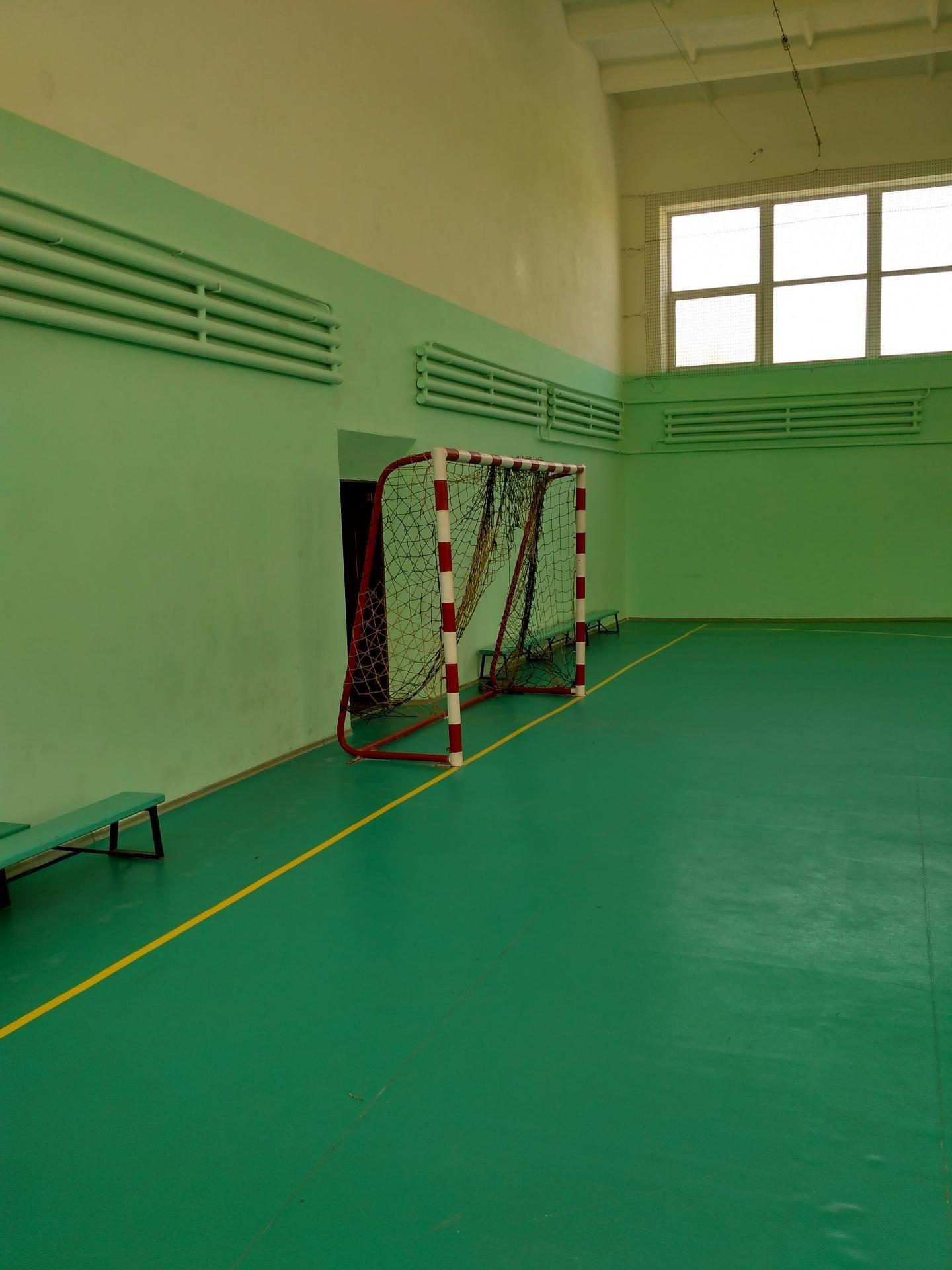 Спортивний зал з ПВХ покриттям