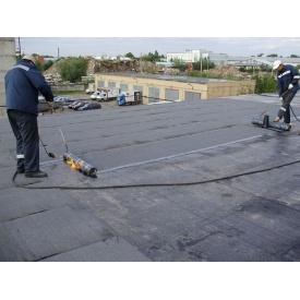 Покрівля плоского даху руберойдом