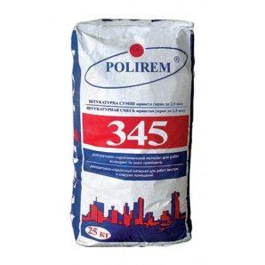 Штукатурка декоративна POLIREM 345 баранець 25 кг білий