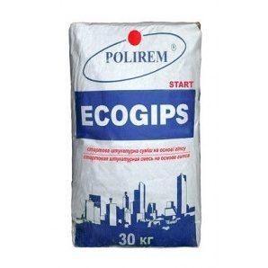 Штукатурка POLIREM Ecogips 30 кг білий