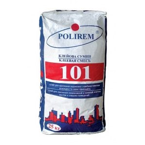 Клейова суміш POLIREM 101 25 кг