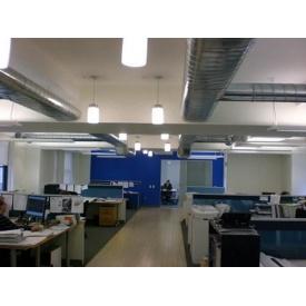 Установка вентиляції в офісному приміщенні