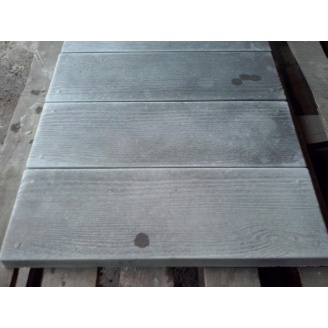 Тротуарная Доска 600х200х30 мм серый